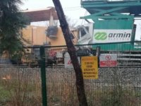İstanbul Florya'da iki tren çarpıştı! (VIDEO HABER)