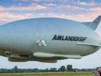 Dünyanın en uzun hava aracı üretiliyor: Futbol sahası büyüklüğünde