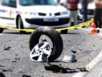 Girne Alsancak Çevre Yolu Üzerinde Trafik Kazası