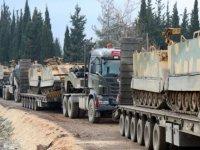 TSK'dan Suriye sınırına sevkiyat sürüyor