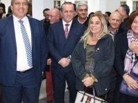 Kurucu Lider Rauf Raif Denktaş'ın fotoğraf sergisi Mağusa'da açıldı