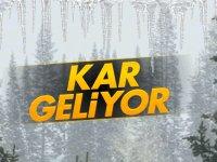 Meteroloji uyardı: Kar geliyor!