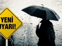 Sağanak yağmur sürecek... Sıcaklık 15-18 derece