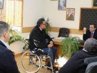 Denktaş, Engelli Hizmetleri Koordinasyon Kurulu heyetini kabul etti