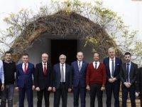 Akıncı, Bosna Hersek Hentbol Federasyonu Başkanını kabul etti
