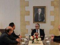 Akıncı, Sosyal Reform Birliği heyetini kabul etti