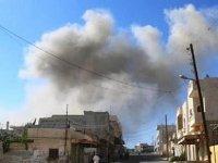 Suriye'de hava saldırısı: 2 ölü, 9 yaralı