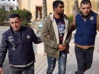 Ülkesine geri dönmek için yardım istedi, tutuklandı!