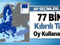 """""""77 bin Kıbrıslı Türk, seçme ve seçilme hakkına sahip"""""""