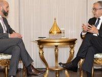Cumhurbaşkanı Akıncı, Avustralya'nın Lefkoşa Yüksek Komiseri Samuel Beever'i kabul etti