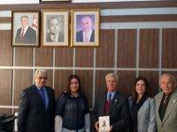 TMT Mücahitler Derneği, Sedat Simavi Endüstri Meslek Lisesi öğrenci ve öğretmenlerine teşekkür belgesi verdi