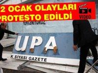 22 Ocak olayları protesto edildi (Video haber)