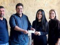 Vicdani Ret İnsiyatifi'nden Kıbrıslı Türk İnsan Hakları Vakfı'na bağış