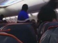 Rusya'da uçak kaçırma girişimi! hava korsanı gözaltına alındı (video)