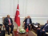 Atakan, TC İçişleri Bakanı Soylu ile görüştü