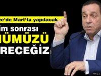 """Denktaş, """"Türkiye'de Mart'ta yapılacak seçim sonrası önümüzü görebileceğiz"""""""