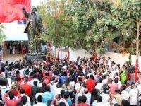 3 buçuk metrelik Lenin heykeli dikildi! #Leninyaşıyor (video)