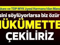 """TDP'den HP'ye rest: """"Aksini söylüyorlarsa biz özür diler, hükümetten çekiliriz"""""""