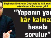Başbakan Erhürman Geçitkale'de halk toplantısında vatandaşlarla bir araya geldi