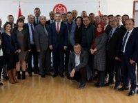 Uluçay, Eskişehir Muhtarlar Derneği heyetini kabul etti