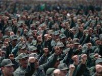 Venezüella'da yüzlerce ordu mensubu Amerikan emperyalizmine karşı yürüdü