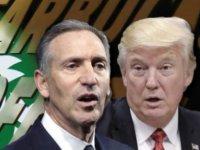 """Starbucks'ın sahibi başkanlığa talip oldu, Trump'tan yanıt geldi: """"Umarım bana hâlâ kirasını ödüyordur"""""""