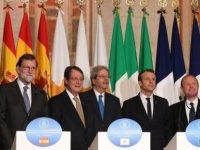 """""""Med 7"""" zirvesi bugün Güney Kıbrıs'ta yapılıyor"""