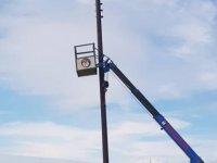 Türkmenköy kırsal kesim arsaları elektriğe kavuşuyor