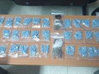 Gazimağusa'da 841 adet extacy hap ile uyuşturucu madde ele geçirildi