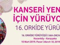 16. Orkide Yürüyüşü 10 Mart Pazar günü gerçekleşiyor