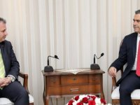 Uluçay, Kıbrıs Üniversiteler Birliği'ni kabul etti