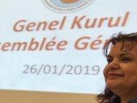 Kıbrıs Türk Fransız Kültür Derneği başkanlığına Heran Çiftçi seçildi