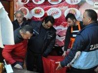 Güzelyurt Belediyesi Sağlık Bakanlığı ile birlikte kasapları denetledi