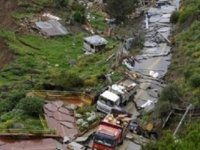 Bolivya'da toprak kayması: En az 8 kişi hayatını kaybetti