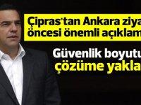 """Çipras: """"Kıbrıs Meselesinde güvenlik boyutunu tartıştık ve bir çözüme yaklaştık"""""""
