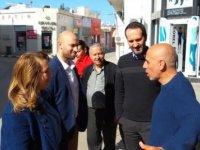 """CTP'liler Güzelyurt esnafını ziyaret etti: """"Halk, hükümete güveniyor"""""""