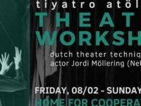 Jordi Möllering Lefkoşa ve Limasol'da tiyatro atölyeleri düzenliyor