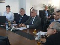 Taçoy ve Amcaoğlu, Kıb-Tek'i ziyaret ederek yetkililerden bilgi aldı