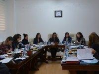 Meclis hukuk, siyasi işler ve dışilişkiler komitesi toplandı