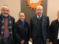 DAÜ Per-Sen Heyeti UBP'yi ziyaret etti