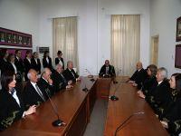 Yeni yargıçlar göreve başladı