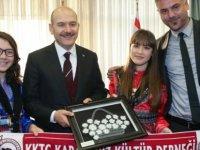 Soylu, KKTC Karadeniz Kültür Derneğİ üyeleriyle bir araya geldi