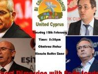 """Ara bölgede """"Federasyon Yoluyla Yeniden Birleşme – Kıbrıs'ta Barış İçinde Bir Gelecek İnşa Etmek"""" paneli"""