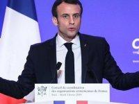 Macron: İklim değişikliğiyle mücadele için referandum düzenleyebiliriz