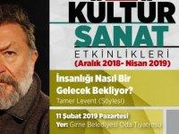 Tamer Levent yarın akşam Girne'de