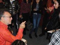 Tamer Levent Girne Belediyesi oda tiyatrosu'na konuk oldu