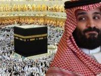 Prens Selman Kâbe'nin çatısına çıktı, ortalık karıştı!(video)