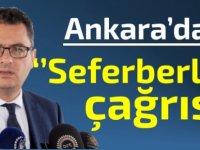 Erhürman'dan Ankara'da seferberlik çağrısı