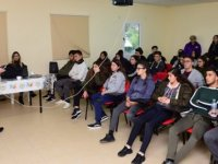 Gençlik Dairesi Vadili gençlik merkezi Lapta Gençlik Kampı'nda aktivite ve eğitimlere katıldı