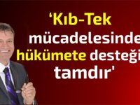 Arıklı: Kıb-Tek mücadelesinde hükümete desteğimiz tamdır'